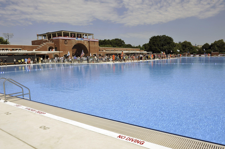 Reapertura de la piscina del parque McCarren