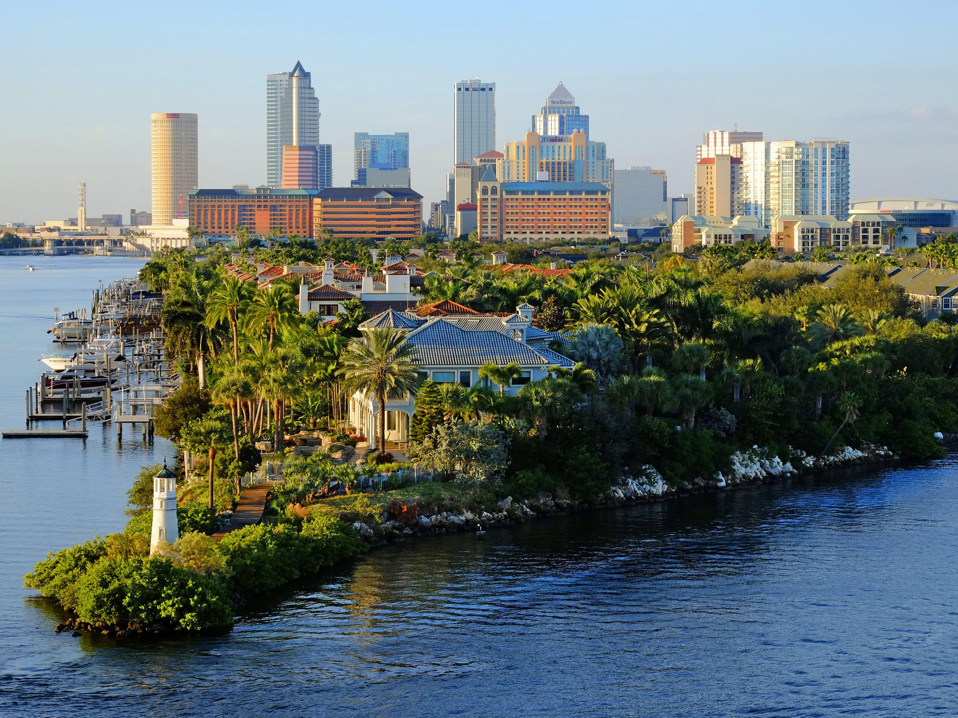 Average Temperature And Rainfall In Tampa Florida