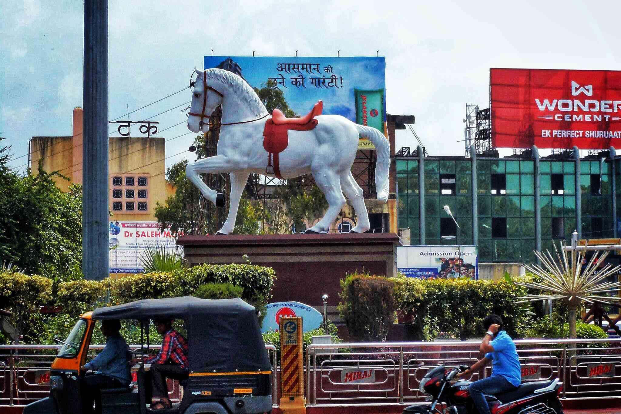 Chetak Circle, Udaipur.