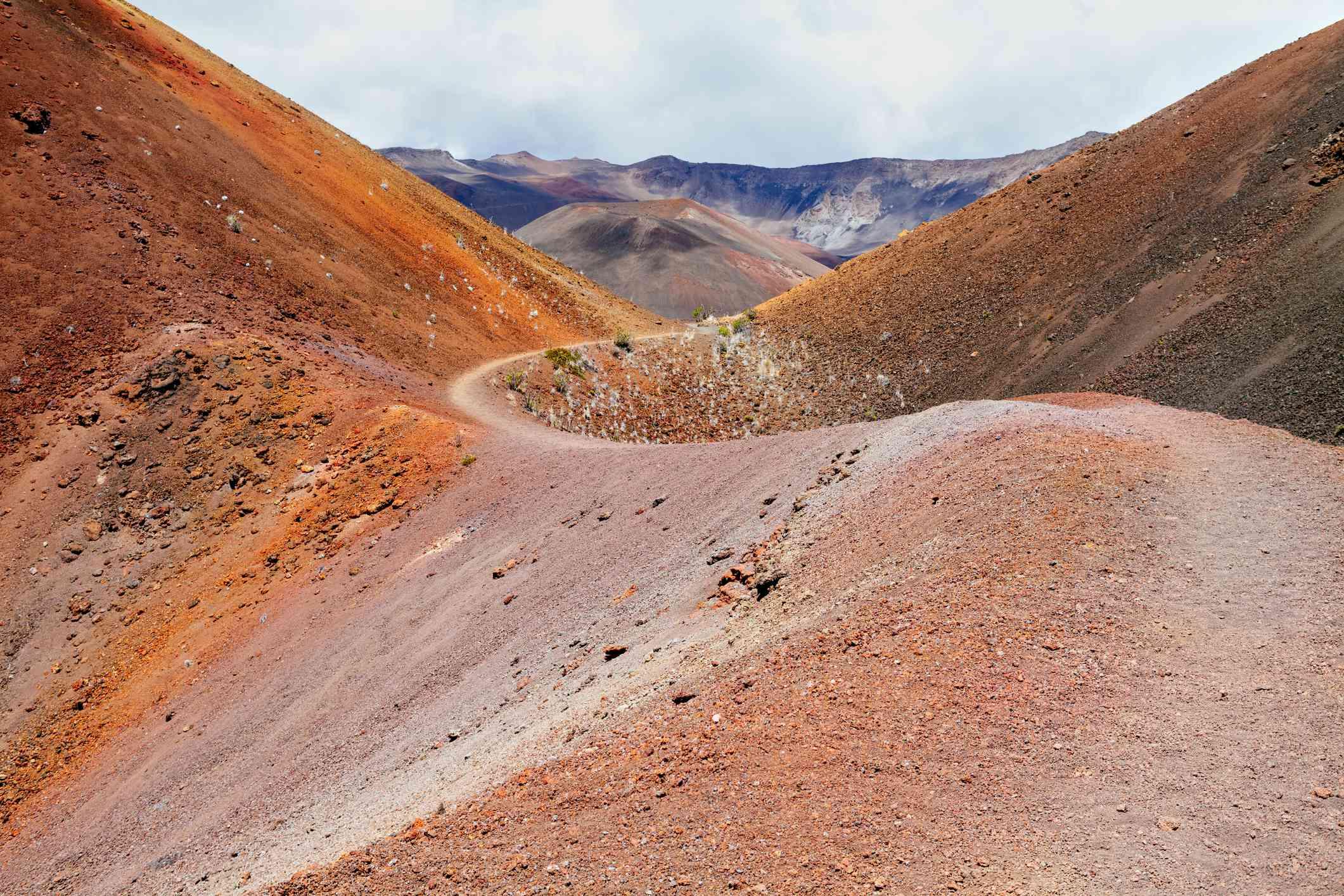 Pele's Paint Pot inside Haleakala National Park