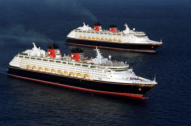 Disney Magic and Disney Wonder - Disney Cruise Line ships