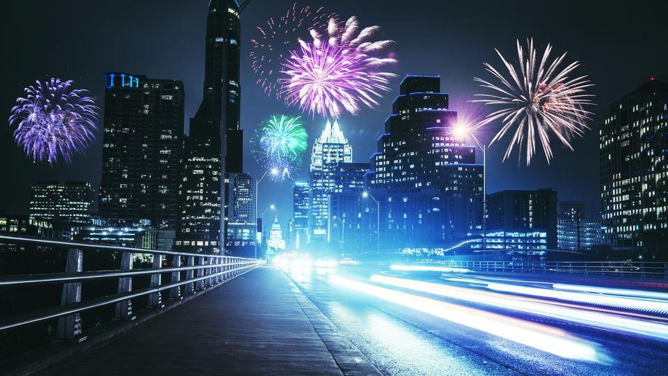Fireworks, austin, tx