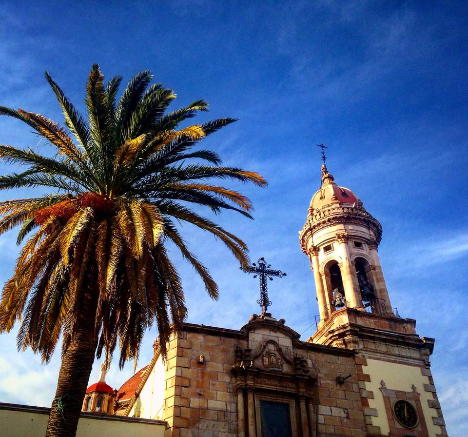 The cathedral of Durango