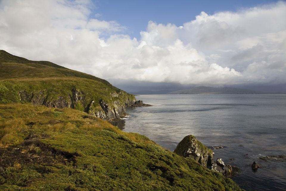 Small bay by Cape Horn, Chile