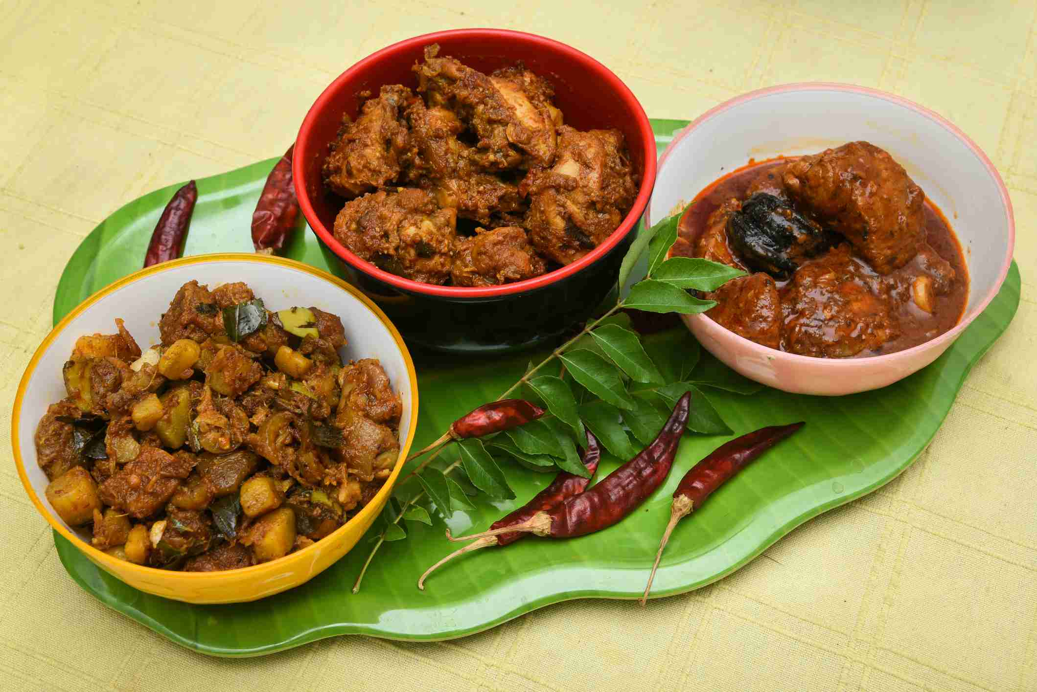 Kerala beef fry.