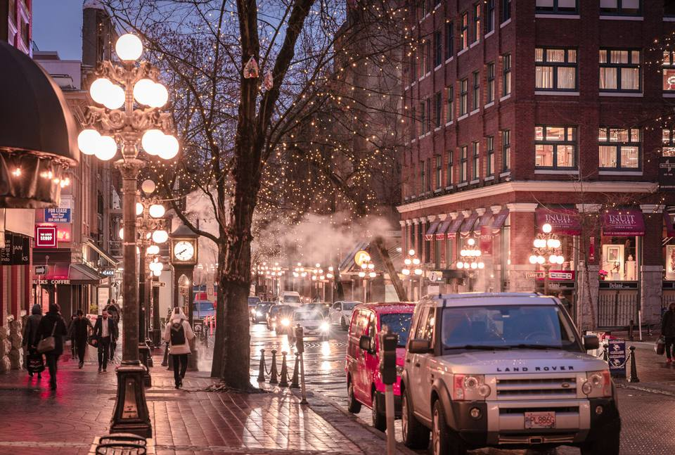 Gastown in Vancouver, BC
