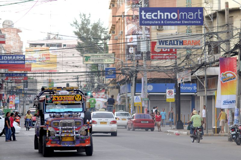 Jeepney in Cagayan de Oro, Philippines.