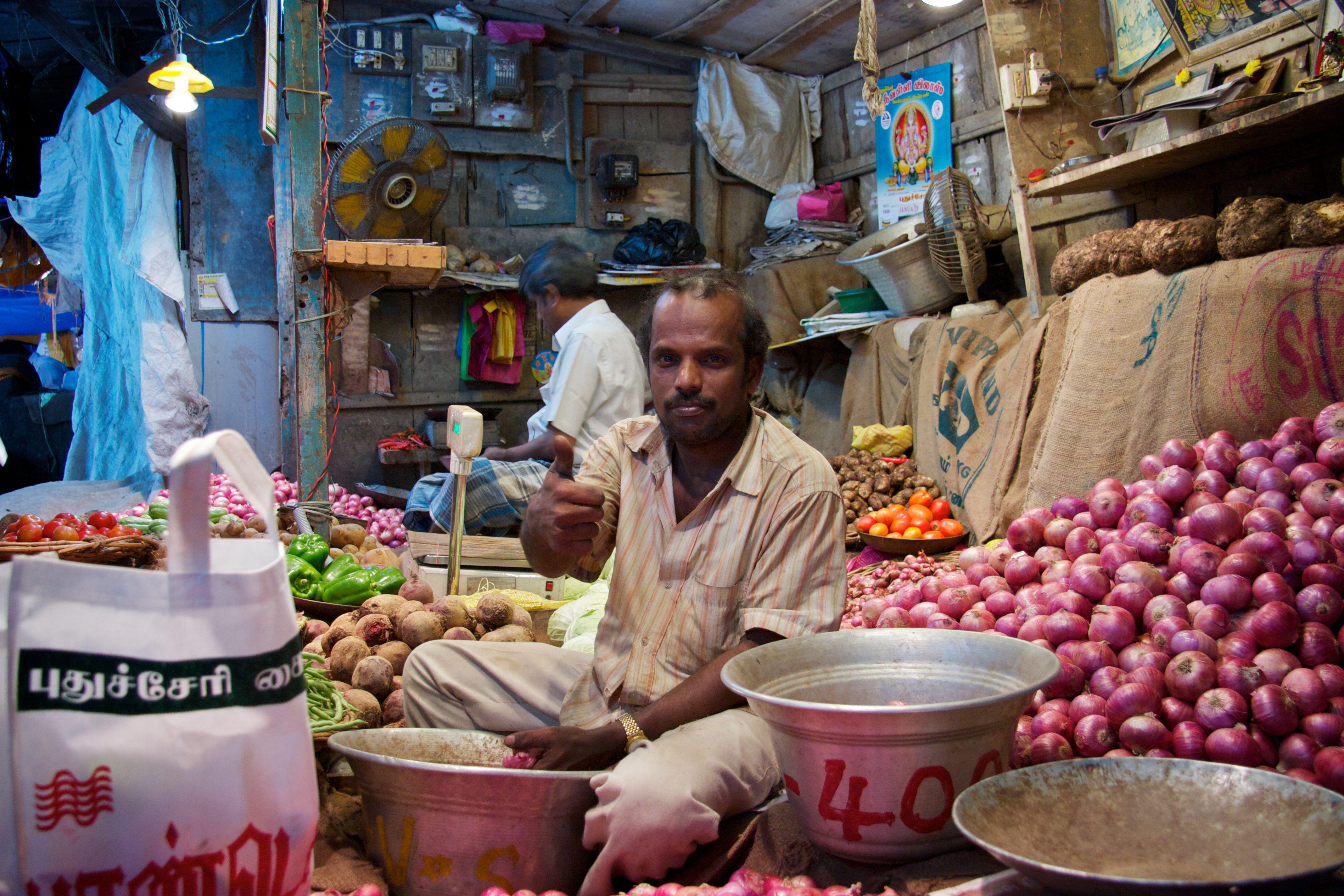 Market in Pondicherry
