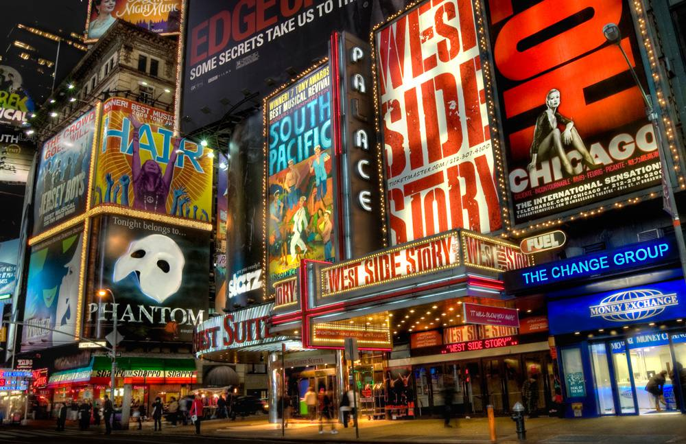 Theater District in NYC's Times Square area