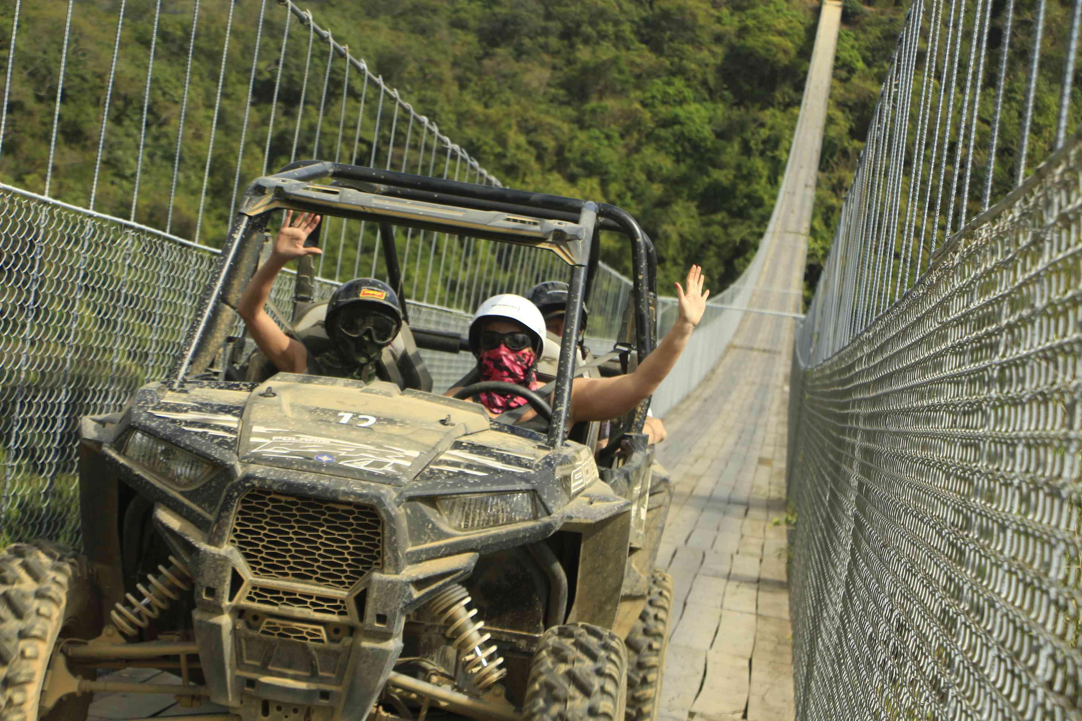 Jorullo Bridge near Puerto Vallarta