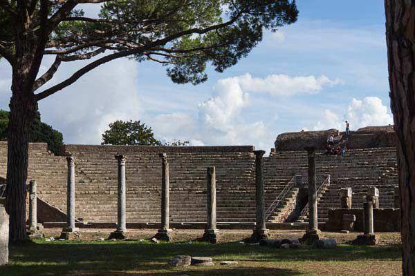 The Roman Theater at Ostia Antica