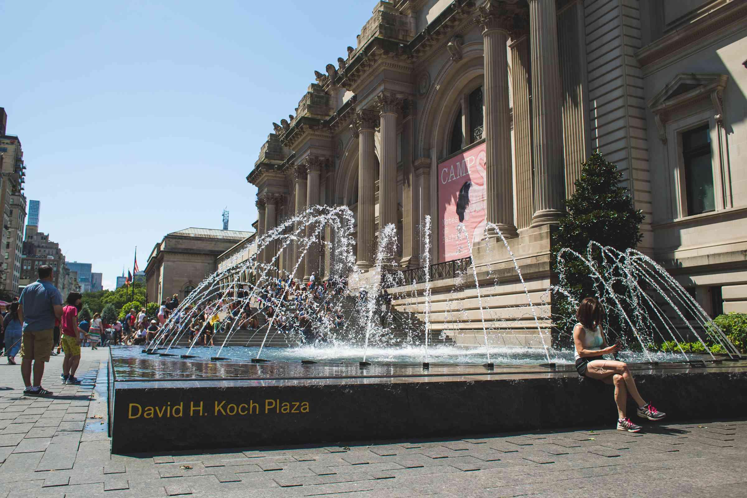 The Metropolitan Museum of Art in New York City, NY