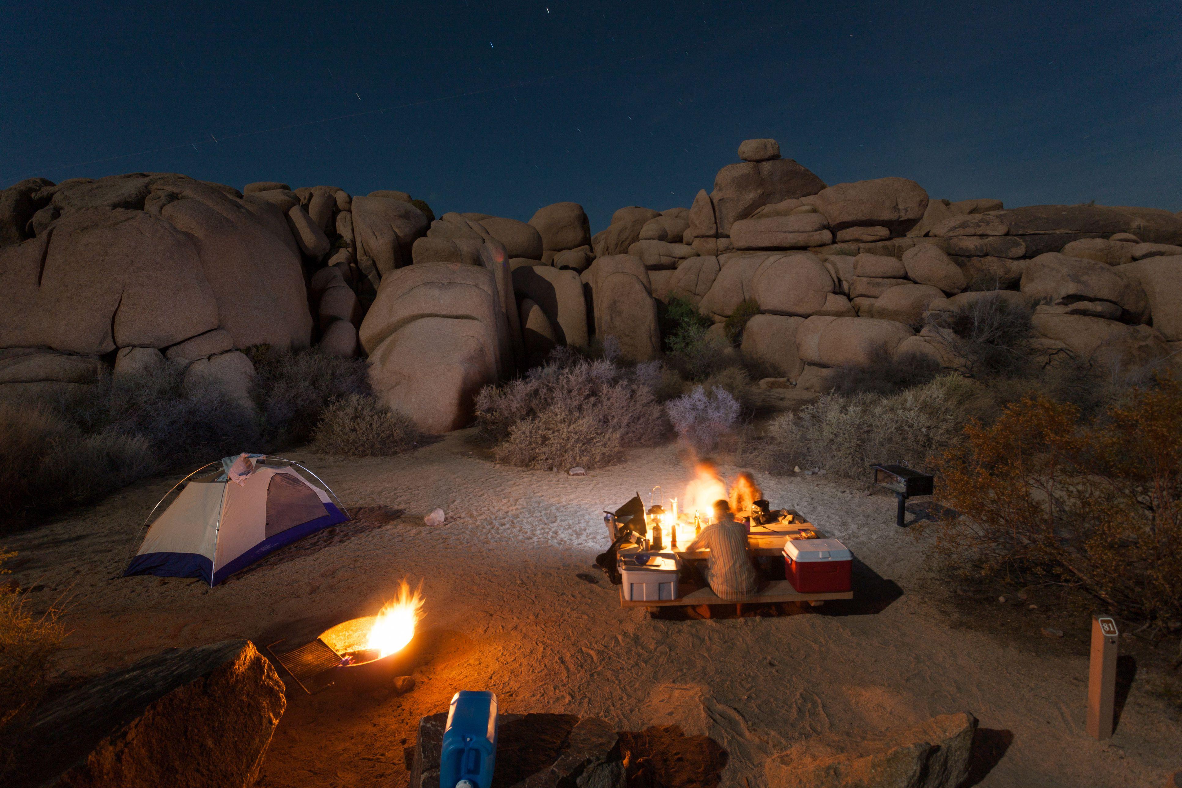 Camping en Joshua Tree