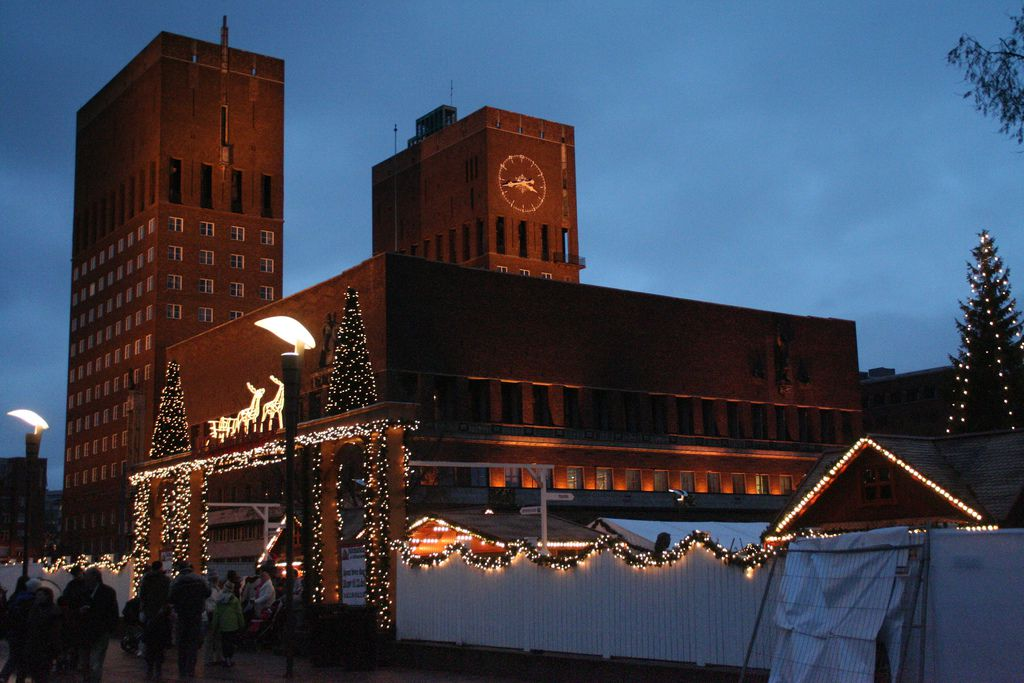 The Oslo Christmas Market, Dec. 2007