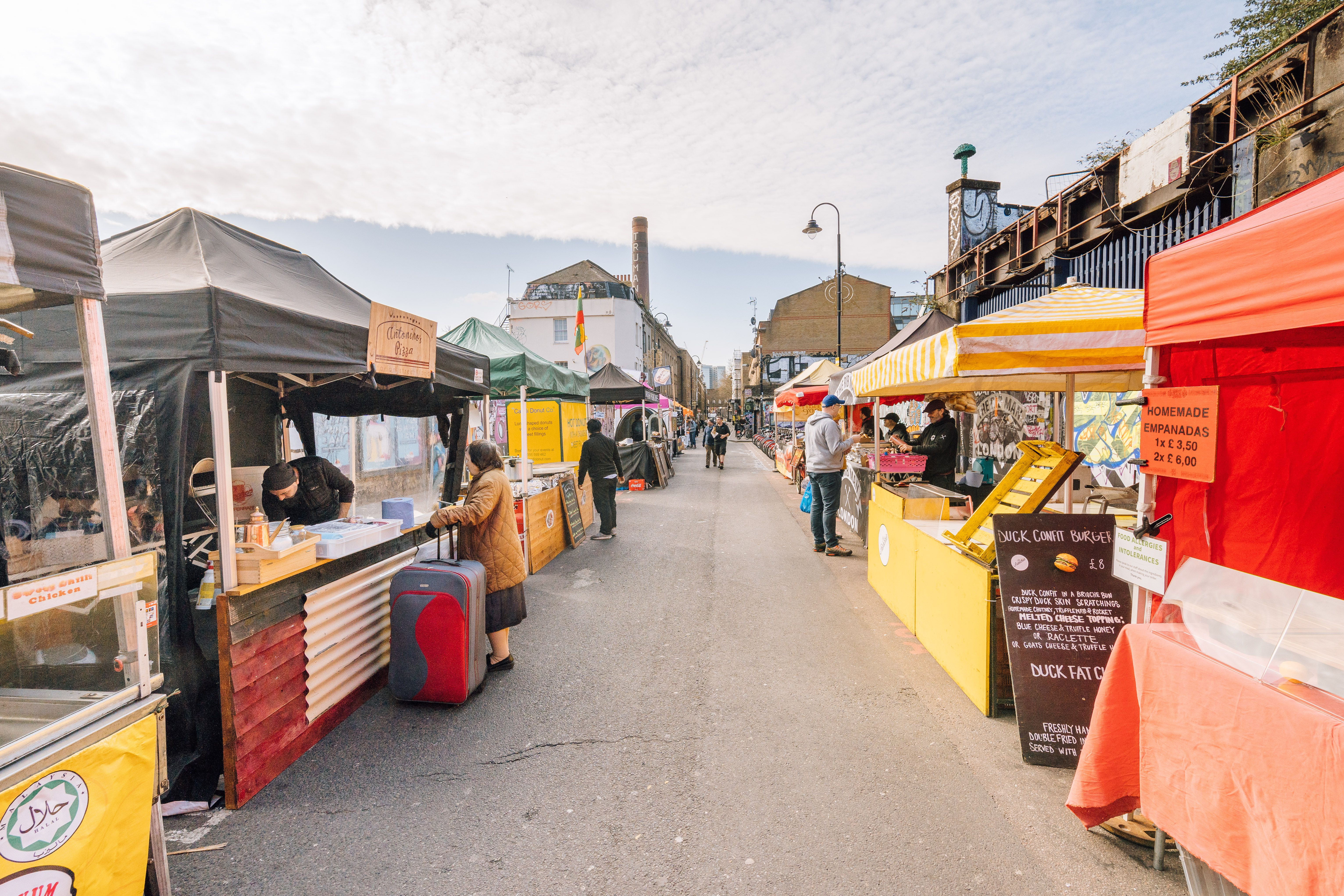 Best Curry Brick Lane >> 10 of the Best Street Markets in London
