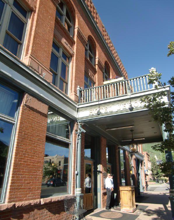 Hotel Jerome, in Aspen. Photo © Teresa Plowright.