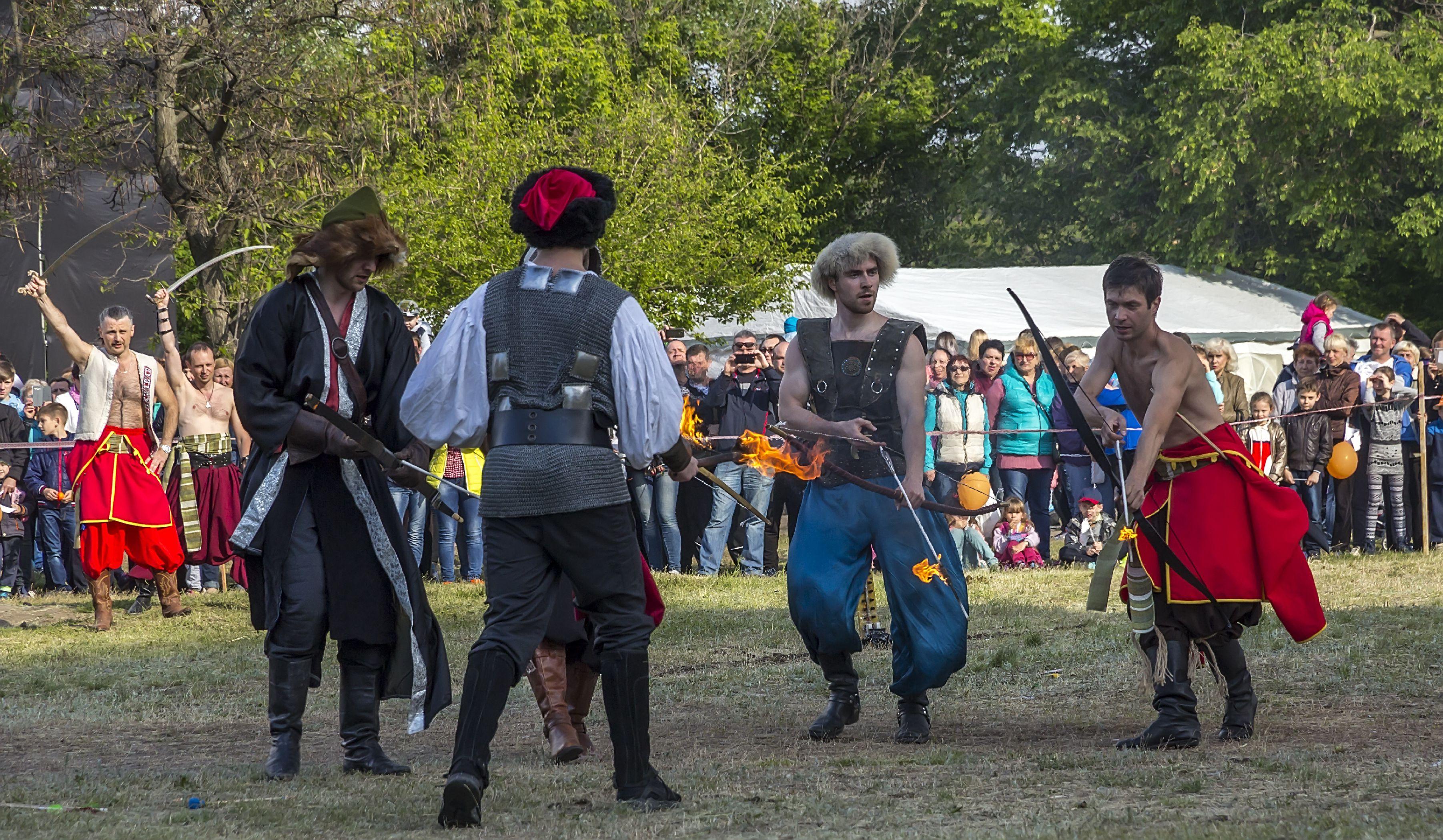performers representing Tatar Culture