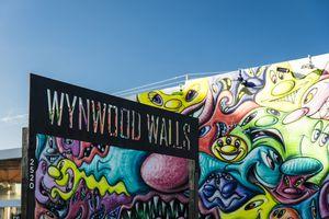 Sign at Wynwood Walls