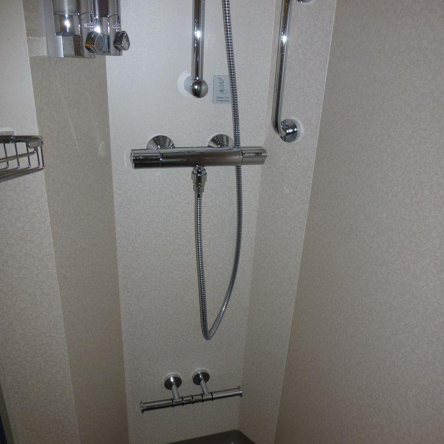 Norwegian Breakaway Spa Balcony Cabin Shower
