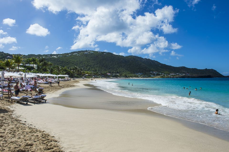 Flamand Beach, St. Barth (Saint Barthelemy),