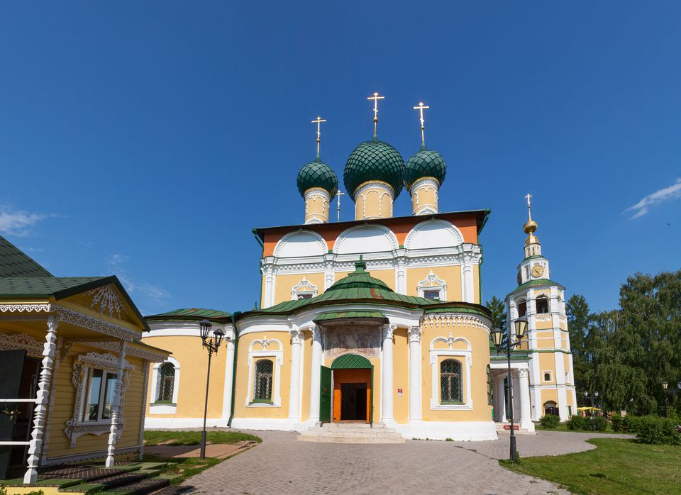 Transfiguration Cathedral of Uglich Kremlin