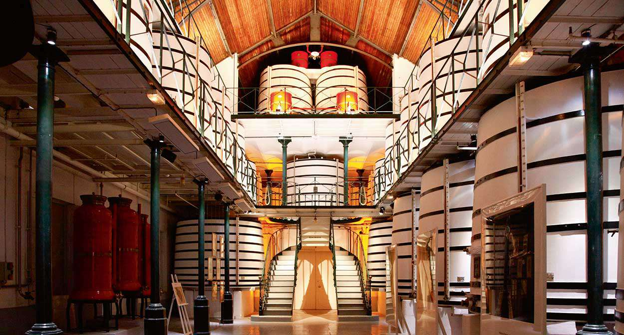 The House of Remy Martin in Cognac