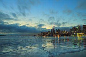 Toronto Winter Evening