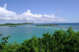 View of Keys and St. Thomas from Culebra