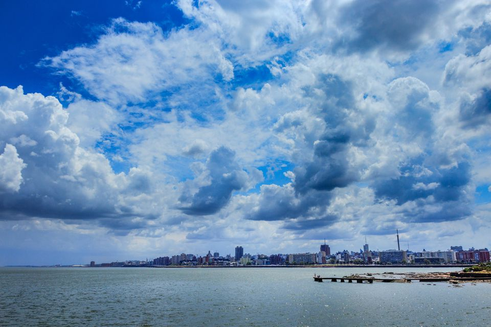 View of Montevideo skyline, Uruguay