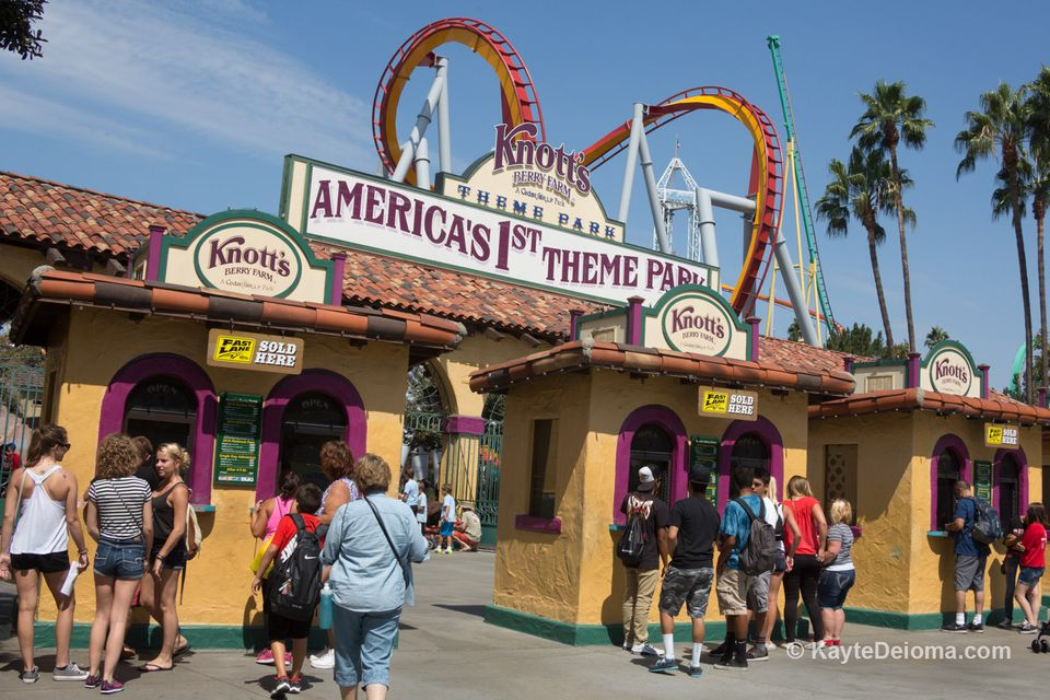 Knott\'s Berry Farm Tips and Tricks
