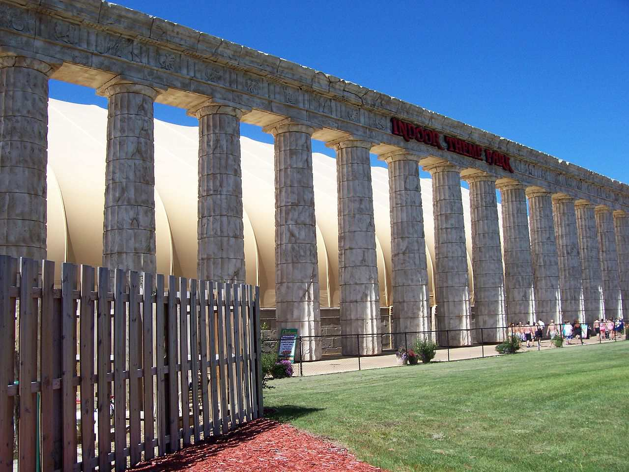 The Parthenon indoor theme park