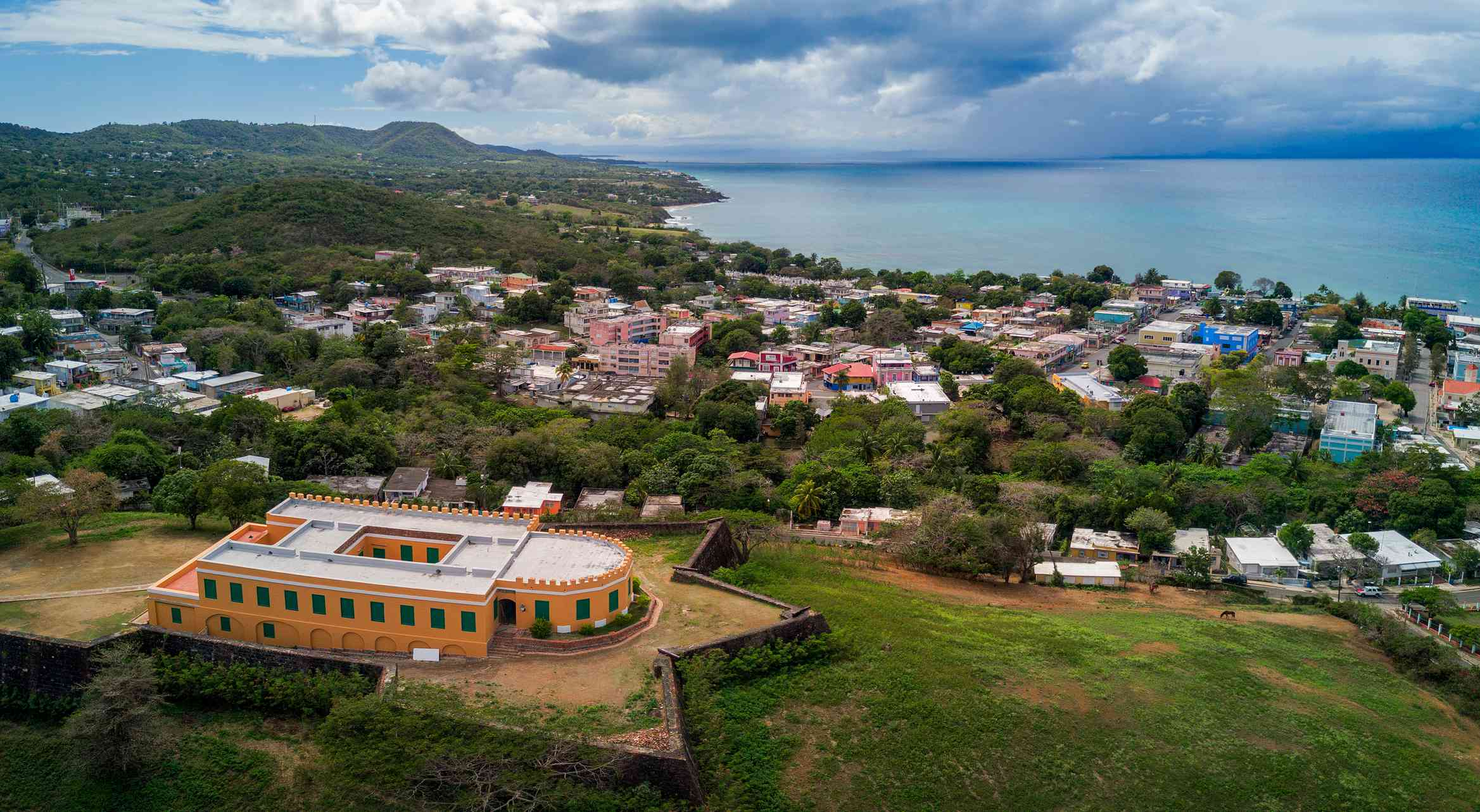 aerial photo Fuerte de Vieques