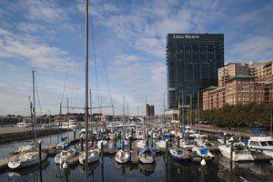 Harbor East Marina, Baltimore