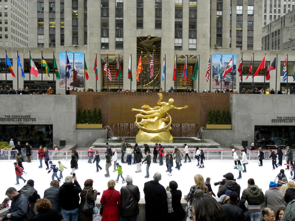 Camera Rockefeller Center : Your guide to skating at the ice rink in rockefeller center