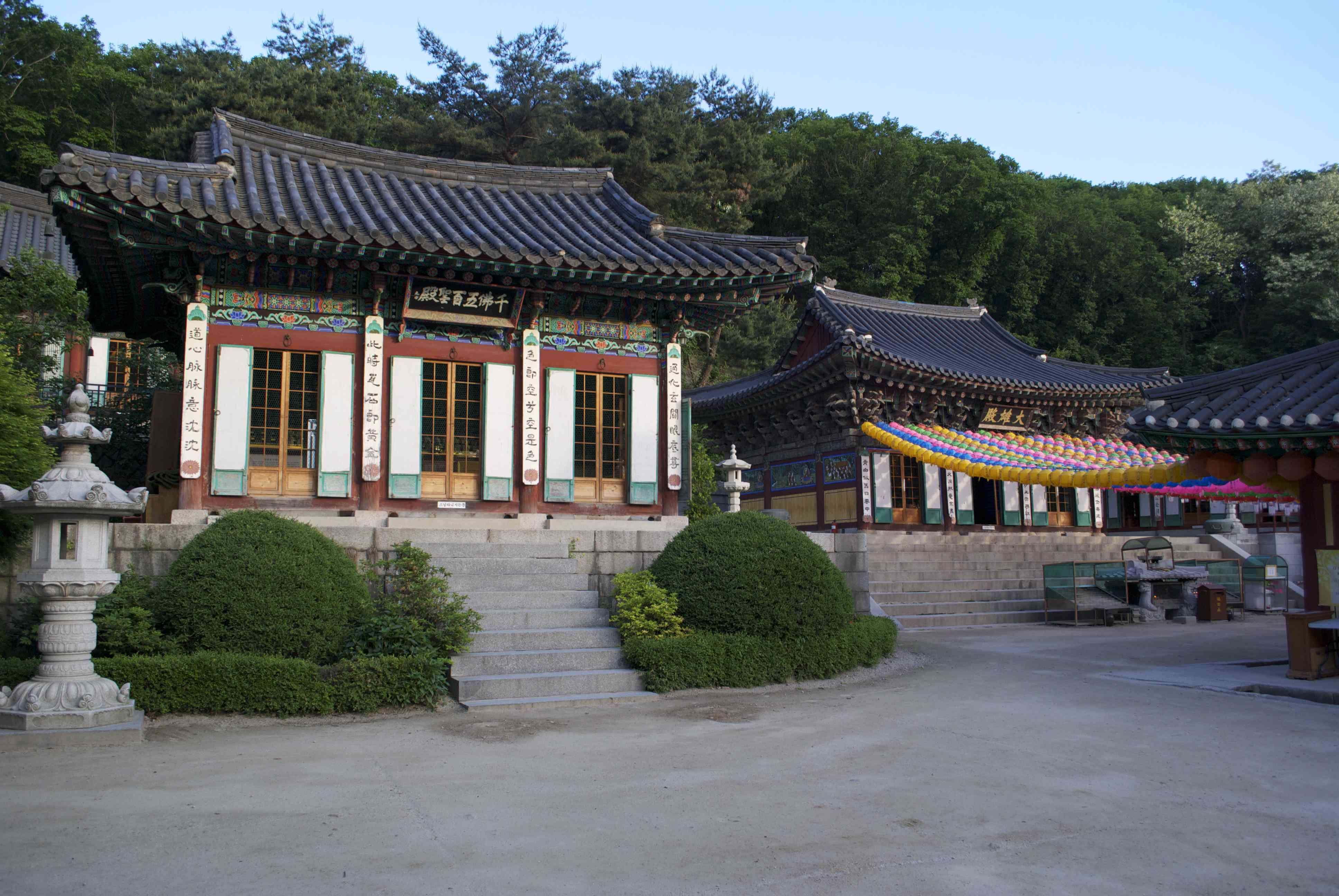 Temples at Hwagyesa