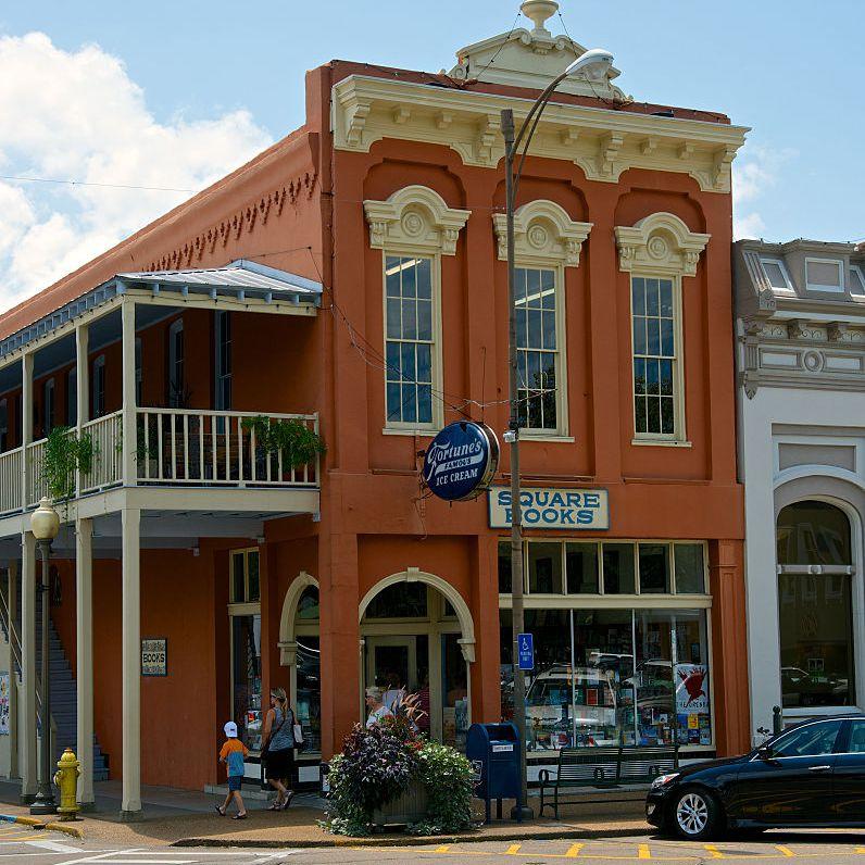Square Books Bookstore in Oxford Mississippi