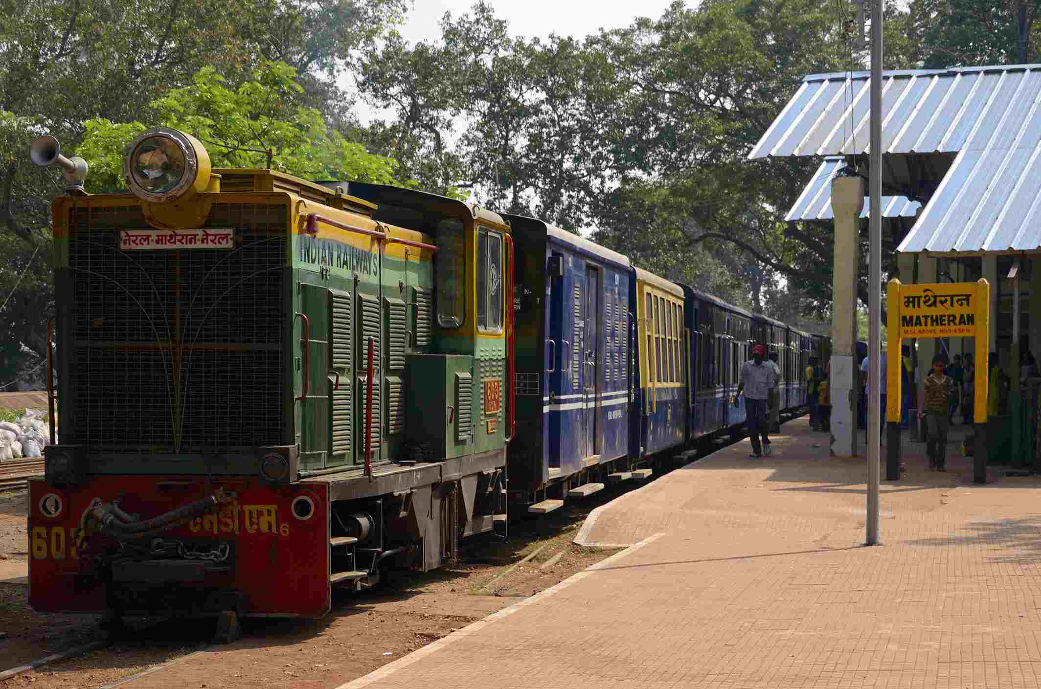Matheran toy train.