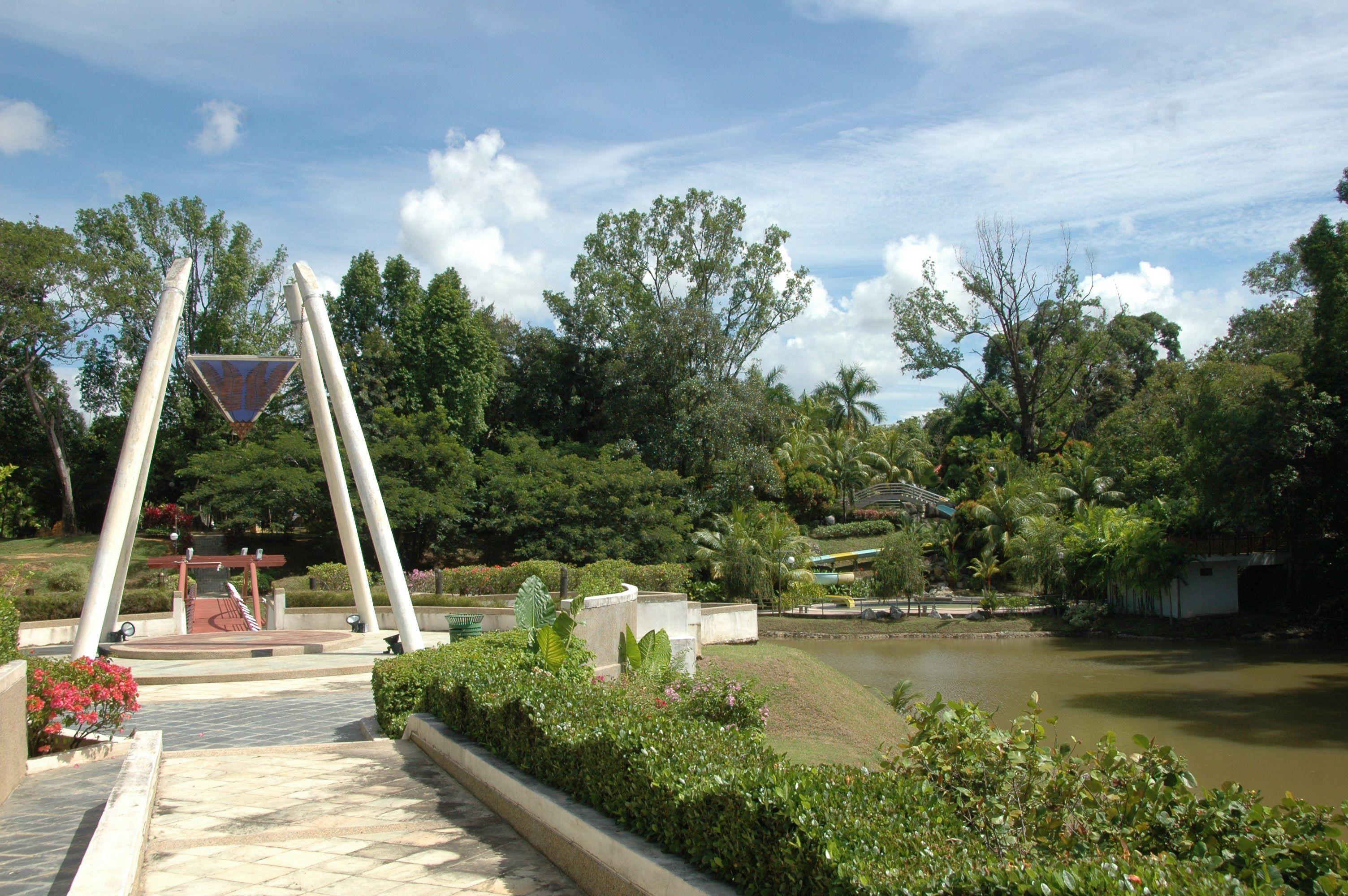 Botanical Gardens in Labaun, Malaysia