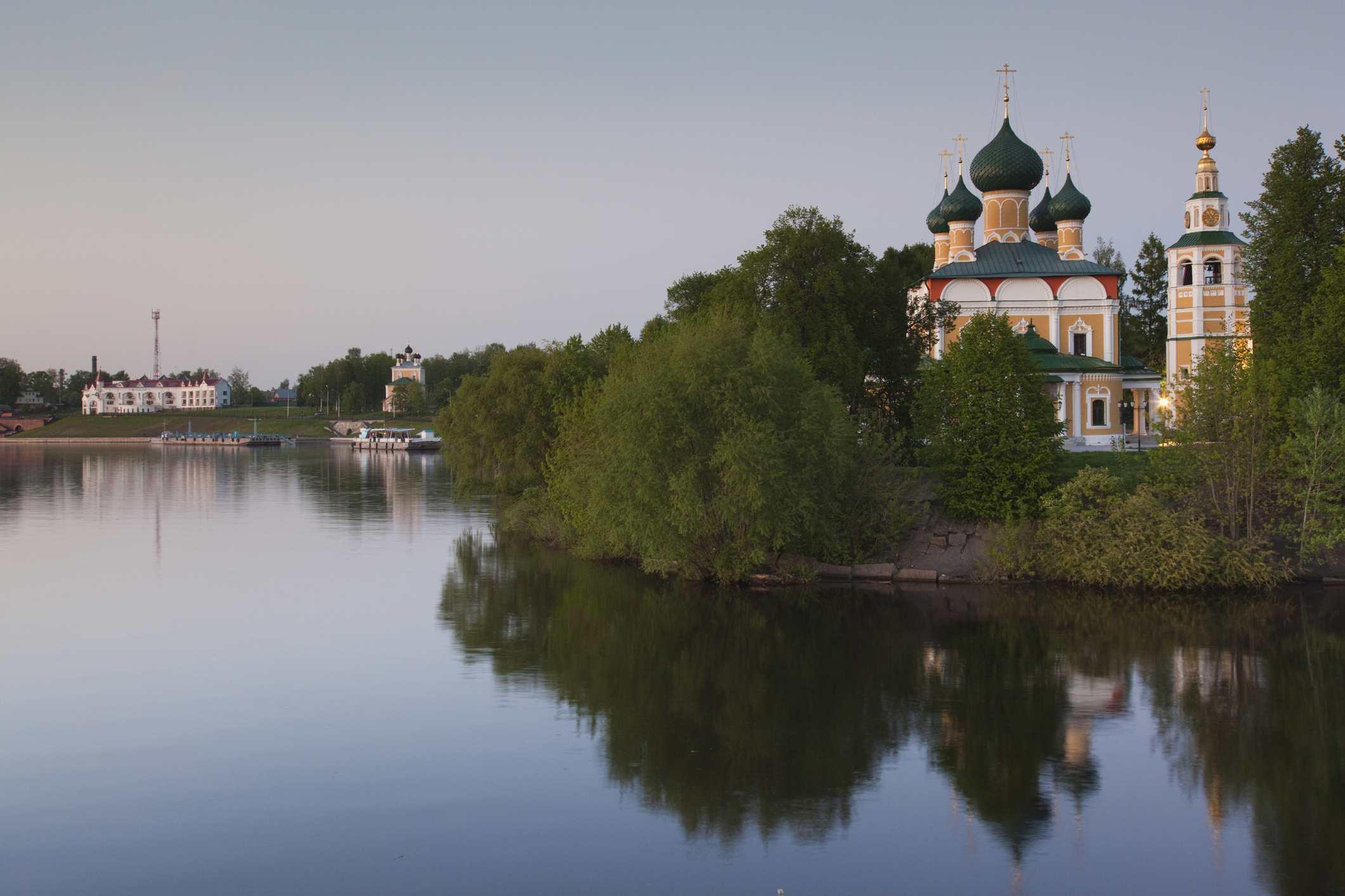 Russia, Yaroslavl Oblast, Golden Ring, Uglich