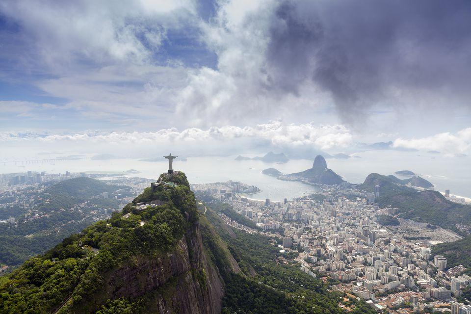 The Rio de Janeiro landscape