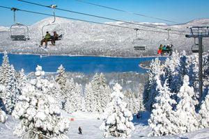 Ski Resort at Big Bear