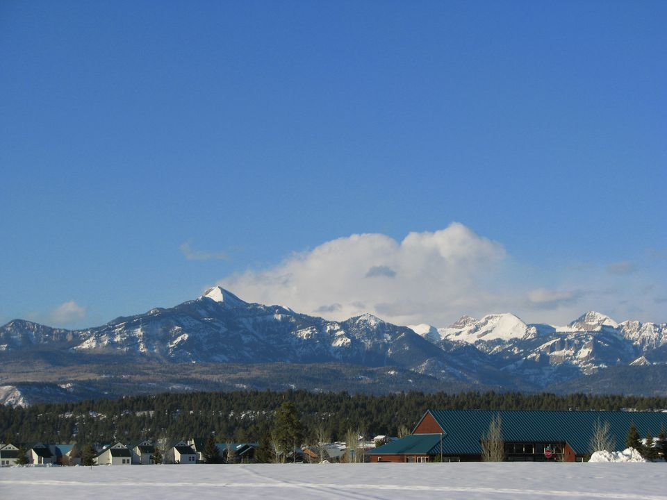 Pagosa Springs in the shadow of the San Juan mountains