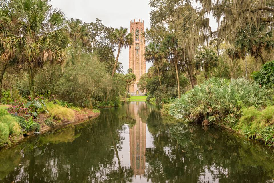 Singing Tower in Lake Wales, Florida