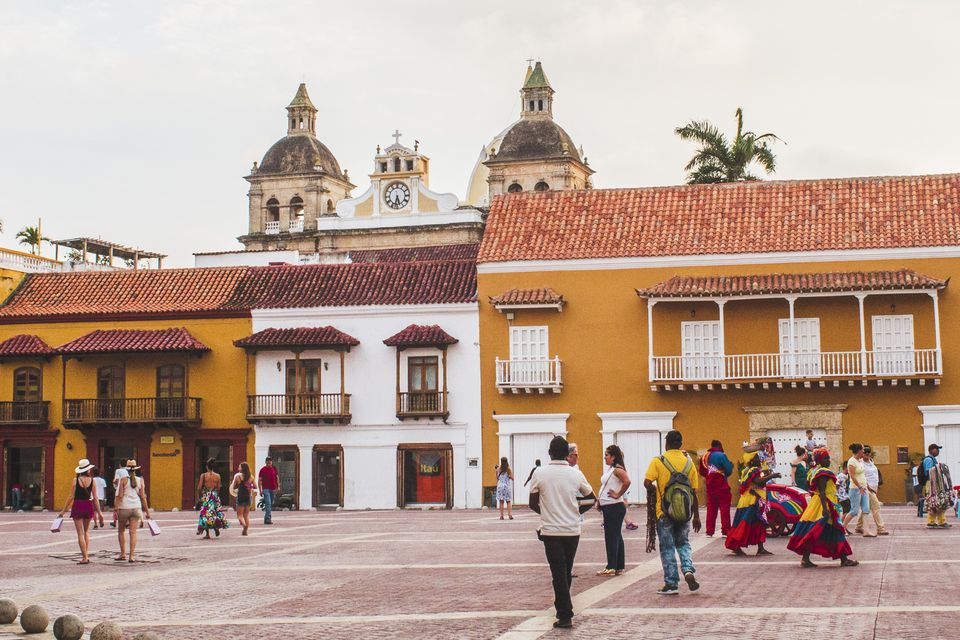 The historic center of Cartagena