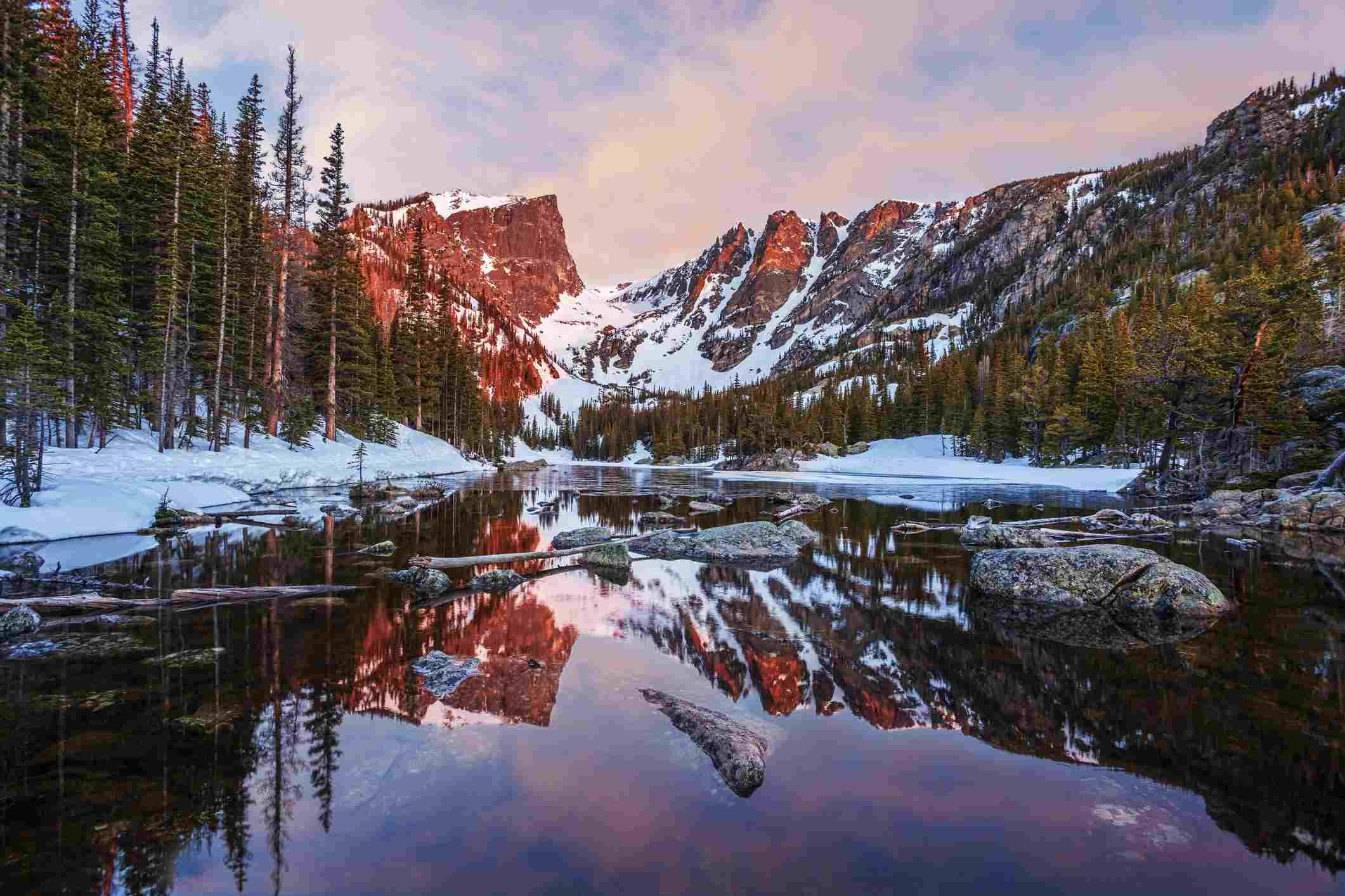 Rocky Mountain National Park's Dream Lake