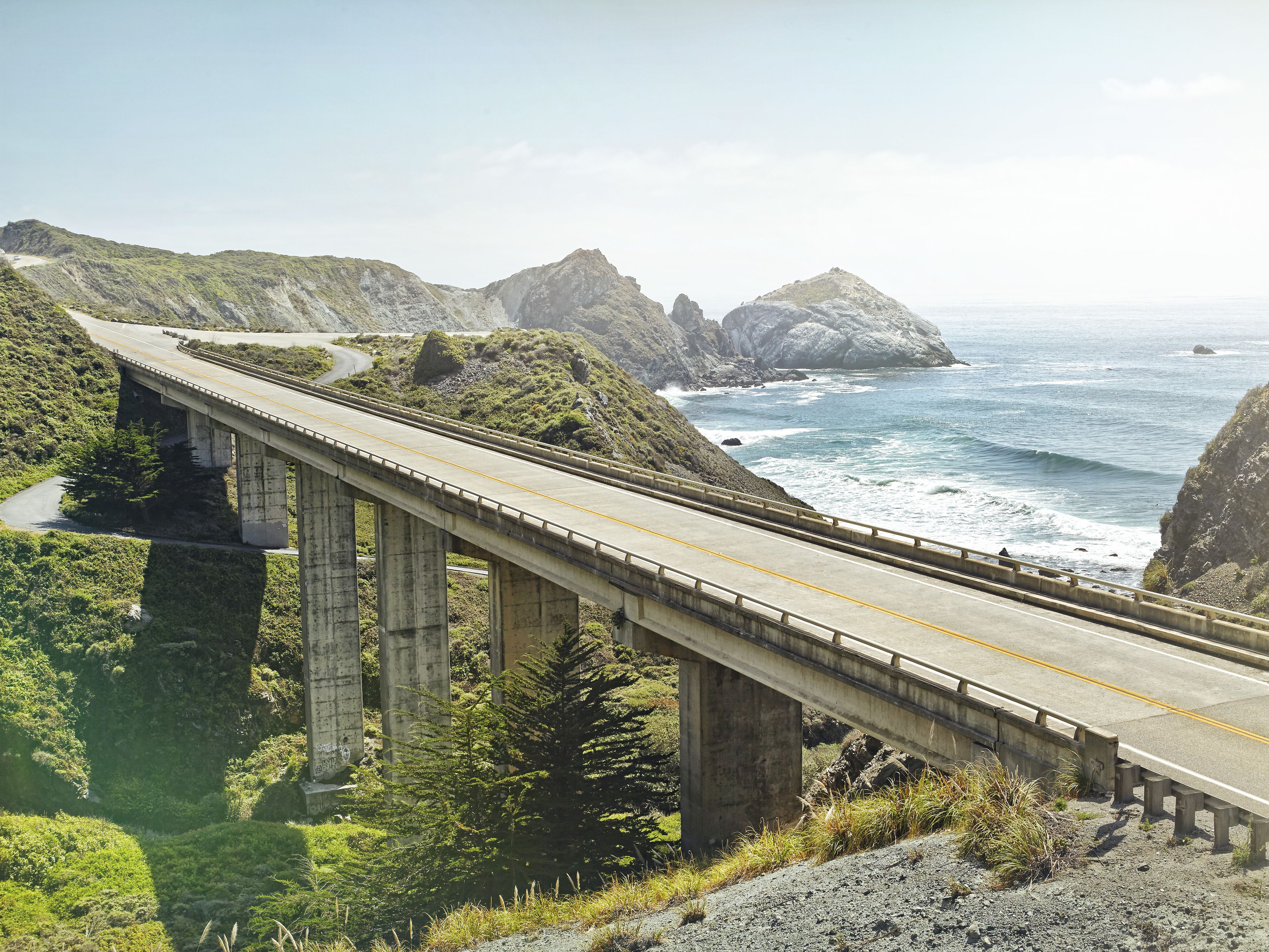 pacific coast highway road map   ... Interstate 5 , the South ...