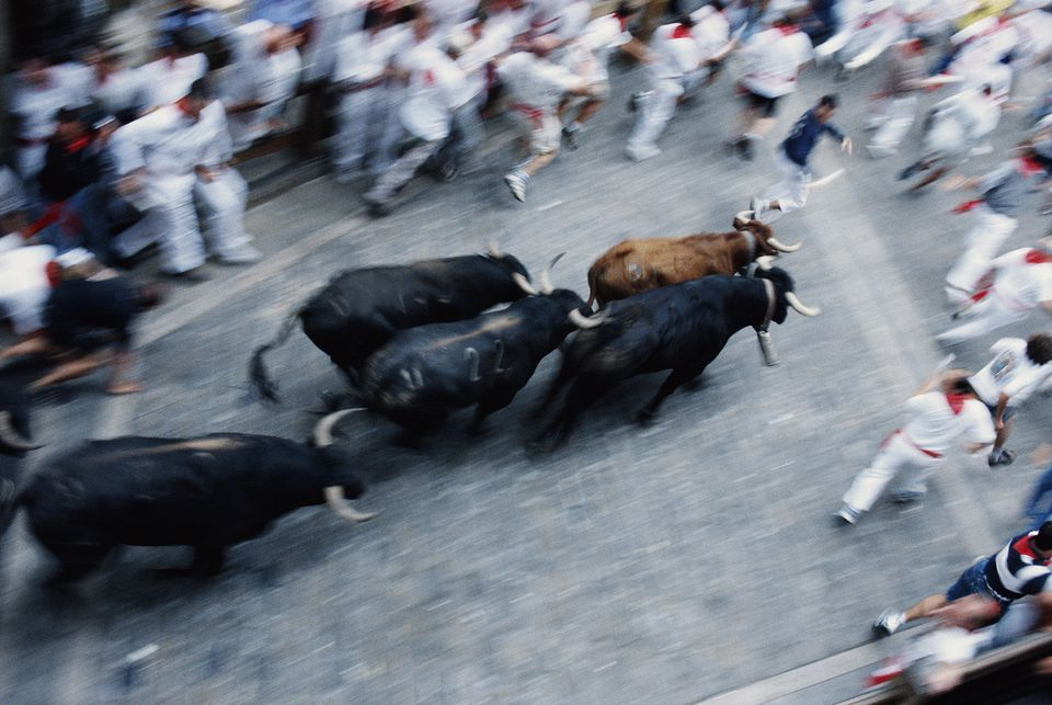 San Fermin Bull Run