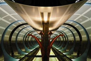 Metro Station Artwork