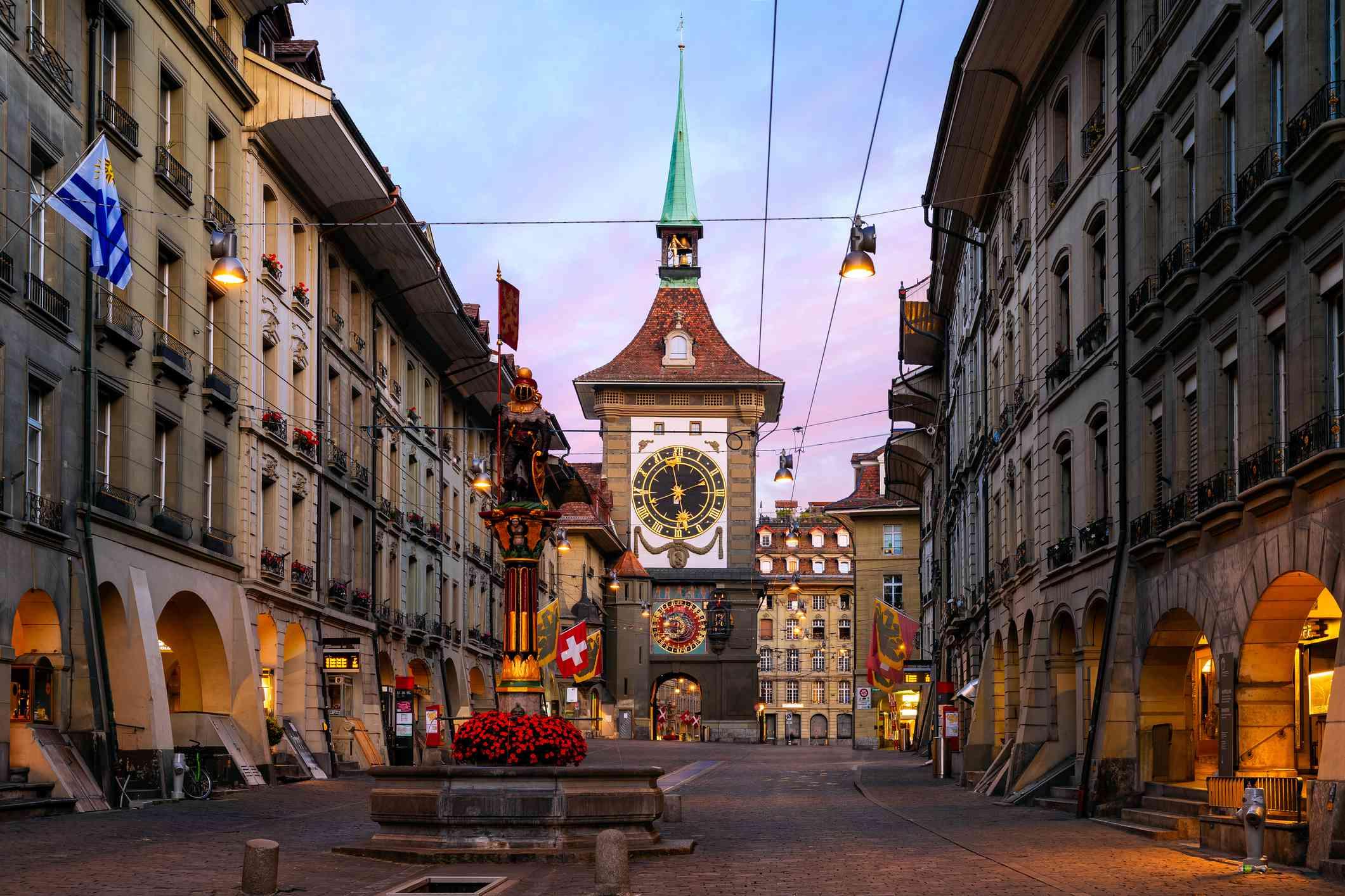 Zytglogge Clock, Bern Switzerland