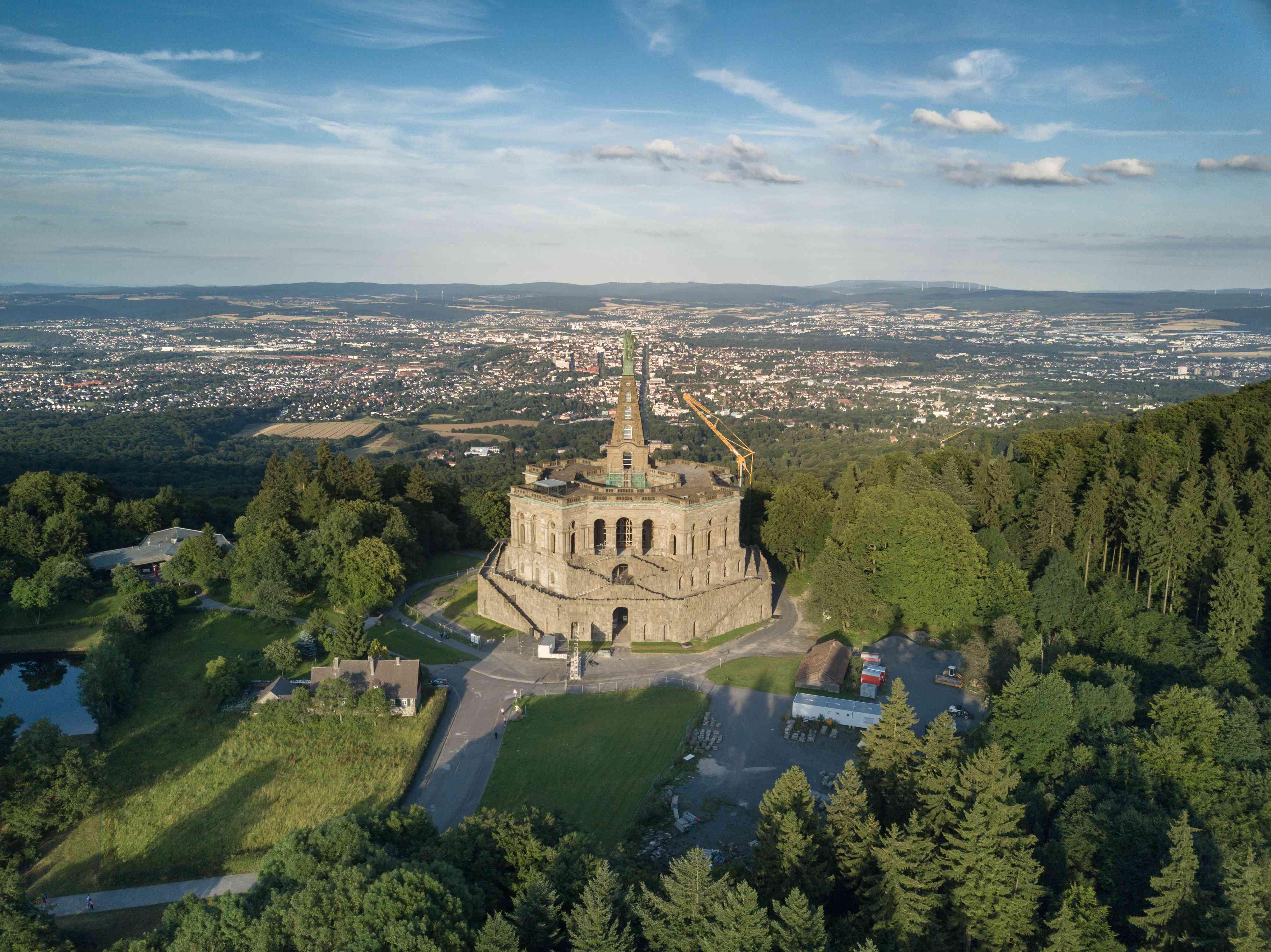 Hercules monument in Kassel
